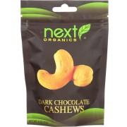 Next Organics Organic Dark Chocolate - Cashews - Case of 6 - 4 oz.