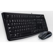 Logitech Desktop MK120 - Conjunto de teclado e rato - USB - Inglês