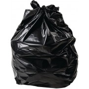 Jantex zware kwaliteit vuilniszakken zwart 200 stuks