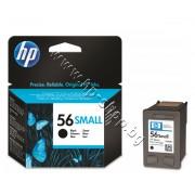 Касета HP 56small, Black, p/n C6656GE - Оригинален HP консуматив - касета с глава и мастило