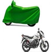 Intenzo Premium Full green Two Wheeler Cover for Honda CB ShineSP