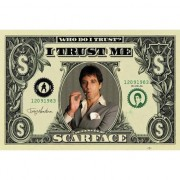 Geen Poster Scarface dollar 61 x 91,5 cm - Action products