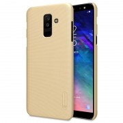 Capa Nillkin Super Frosted Shield para Samsung Galaxy A6+ (2018) - Dourado