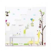 TipTop Wall Stickers Cartoon Tree och djur Barn