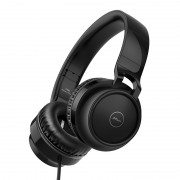 PICUN C60 3.5mm Over Ear Headphone 4D Surround Sound Bass Headset with Mic - All Black