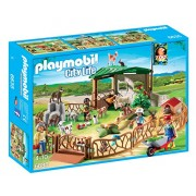 PLAYMOBIL Children s Petting Zoo Building Kit