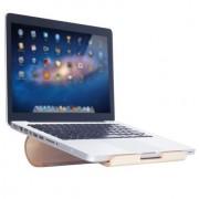 Samdi - Laptop Houder MacBook 12.9 (2016) inch Hout Licht Bruin