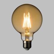 Luci Da Esterno Lampada LED con estetica vintage Maxi Globo 8W E27 Vetro Oro