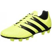 adidas Men's Ace 16.4 Fxg Syello, Cblack and Silvmt Football Boots - 9 UK/India (43.3 EU)