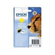 Epson Cartucho de tinta original EPSON T0714, Guepardo 5,5 ml , Amarillo, C13T07144012