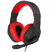 Слушалки с микрофон genesis gaming headset argon 200 red stereo, nsg-0900