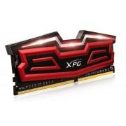 Memorija DIMM DDR4 16GB 3000MHz ADATA XPG Dazzle CL16 LED, AX4U3000316G16-BRD
