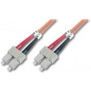 Digitus DK-2622-03 cavo a fibre ottiche 3 m SC Arancione