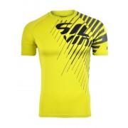Férfi póló Silvini PROMO MT517 neon-szén