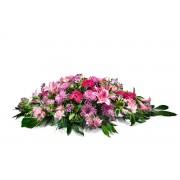 Interflora Almofada em Tons Cor-de-Rosa Interflora