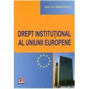 Drept Institutional Al Uniunii Europene - Sean Van Raepenbusch