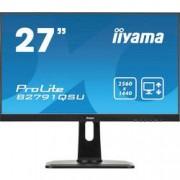 Iiyama LED monitor Iiyama ProLite B2791QSU, 68.6 cm (27 palec),2560 x 1440 px 1 ms, TN LED HDMI™, DisplayPort, DVI, USB 3.0, na sluchátka (jack 3,5 mm)