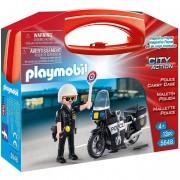 Playmobil city action valigetta polizia