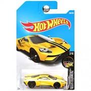 Hot Wheels 2017 Nightburnerz '17 Ford GT 308/365, Yellow