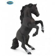 Cal negru cabrat - Figurina Papo