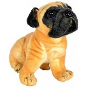 Chinmayi Cute Hutch Dog Good Companion To Your Little Ones - 20 Cm (Brown)