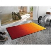約50×75cm wash+dry玄関マット red rainbow