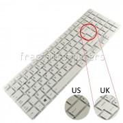 Tastatura Laptop Toshiba Satellite P50-C alba layout UK