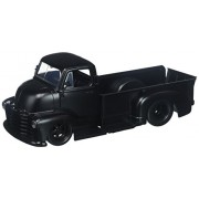 New 1:24 DISPLAY JUST TRUCKS - MATTE BLACK 1952 CHEVROLET COE PICKUP TRUCK Diecast Model Car By Jada Toys