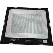 Faro a LED SMD 200watt Proiettore per campo sportivo calcio,tennis,insegne cantieri
