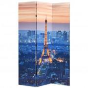 vidaXL Folding Room Divider 120x170 cm Paris by Night
