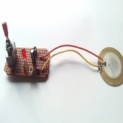 Techamazon Piezo electricity generator- Engineering project kit + CARRYING BOX