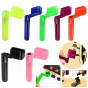 Colorful Guitar String Winder Quick Speed Peg Puller Bridge Pin Remover Tool for Acoustic Electric Guitars Accessories Promotion