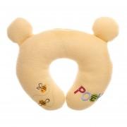Cojín Para Siesta Disney Bordado Winnie Pooh-Amarillo