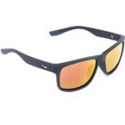 Nike Rectangular Sunglasses(Orange)