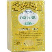 St. Dalfour Lemon Tea (Organic) 25 Bag