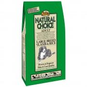 2x15kg Nutro Natural Choice Adult cães de porte grande cordeiro e arroz ração