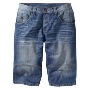 RAINBOW Långa jeansshorts i lös passform