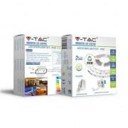 VTAC V-TAC VT-5050 Kit completo striscia led rgb smd5050 ip20 + controller + alimentatore - SKU 2558