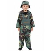 Karnevalový kostým Armáda velikost 4-6 let