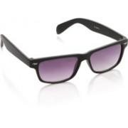 Rockford Rectangular Sunglasses(Violet)