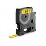 Etichete autocolante DYMO LabelManager D1 9mm x 7m negru galben 40918 S0720730