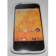 Силиконов гръб ТПУ за LG Nexus 4 E960 Бял