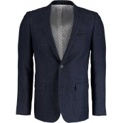 Bos Bright Blue Napoli Modern Fit Colbert A2629050/5