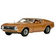 1971 Ford Mustang Sportsroof Medium Brown 1/18 by Sunstar 3919