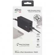 Aiino - Table Charger 5 Usb 8a - Premium - Black