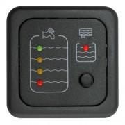 PANNELLO TEST SERBATOI CBE 12V a LED + CAVI + SONDE MT214/M