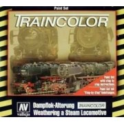 Vallejo Modelarskie farby akrylowe Traincolor - lokomotywy, Vallejo 73099