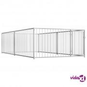 vidaXL Vanjski kavez za pse 200 x 400 x 100 cm
