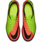 Tenis Fútbol Hombre Nike HypervenomX Phade III TF -Verde Con Naranja
