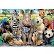 Пъзел 300 части Educa, 15908 Клас диви животни, 8412668159082